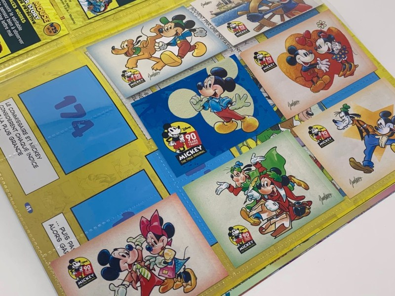 avis Album Panini Mickey Mouse Sticker Story