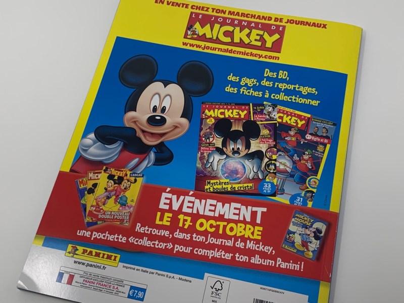Album Panini Mickey Mouse Sticker Story