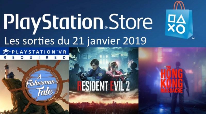 MAJ Playstation Store 21 janvier