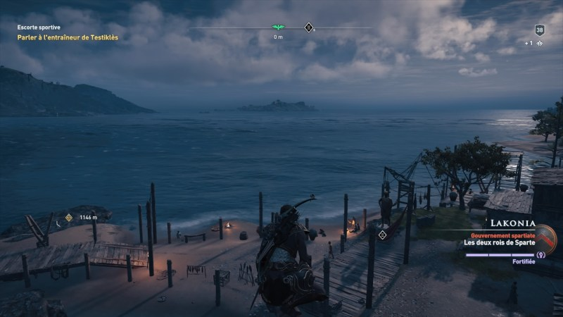Test Assassins Creed Odyssey PS4 Pro