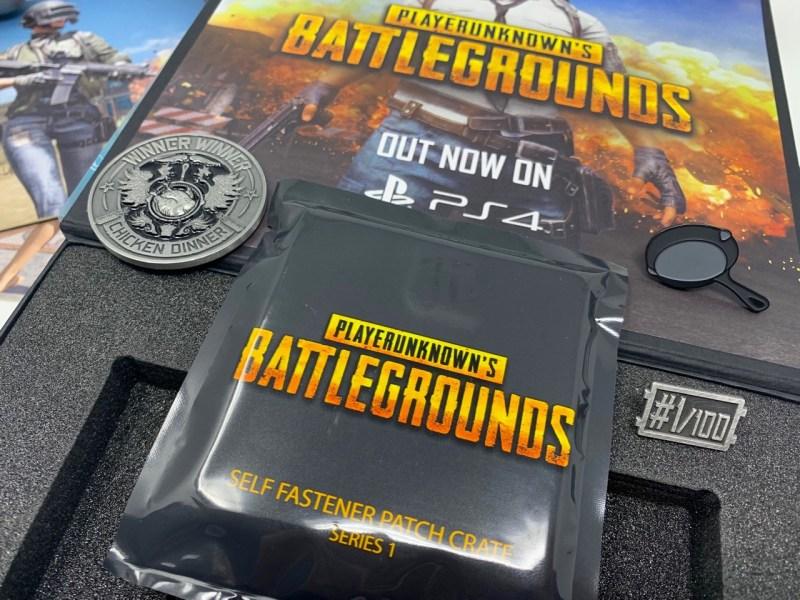 Unboxing Presskit PUBG PS4
