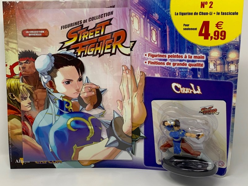 Chun-Li Figurines Street Fighter Altaya