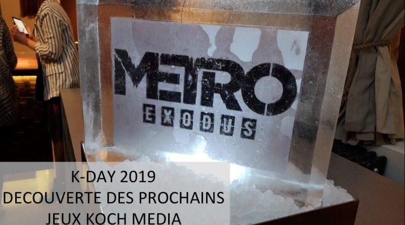 KDAY Decouverte prochains jeux Koch Media - Gouaig.fr