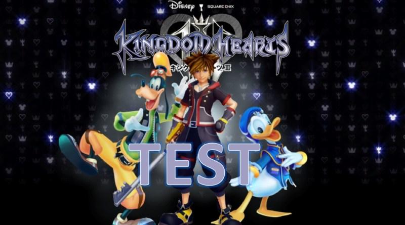 Test Kingdom Hearts 3 - Kingdom Hearts III - Gouaig.fr