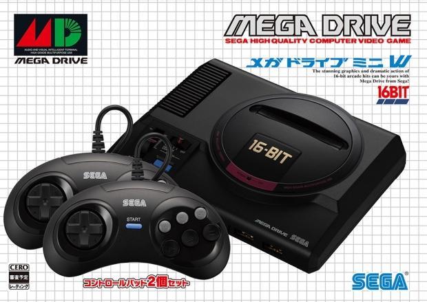 Sega mega drive mini packaging