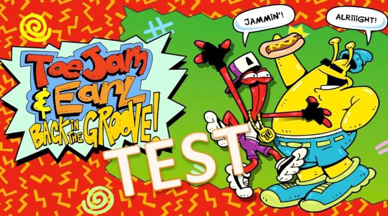 Test Toe Jam & Earl- Back in the Groove - gouaig.fr