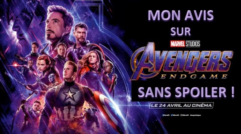 Avengers Endgame - Mon avis sans spoiler - Gouaig
