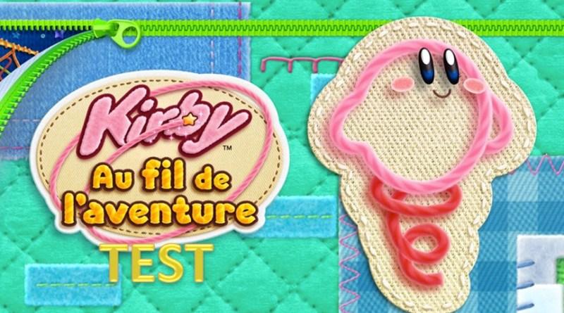 Test Kirby Au fil de l'aventure 3DS - Gouaig