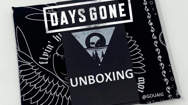 Unboxing Press Kit Days Gone