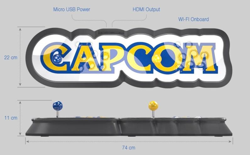 capcom home arcade spec