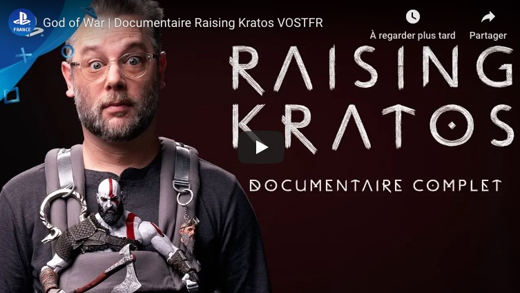 raising kratos - documentaire god of war VOSFTR