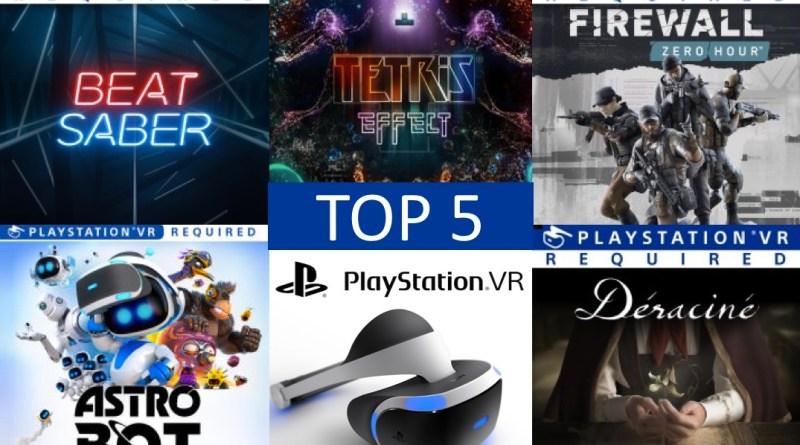 top PSVR PS4