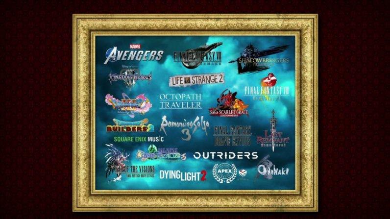 square enix E3 jeux