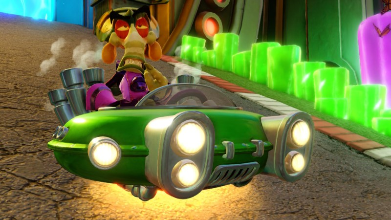 Test Crash Team Racing Nitro-Fueled