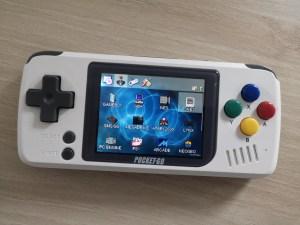 Test PocketGo Console retrogaming