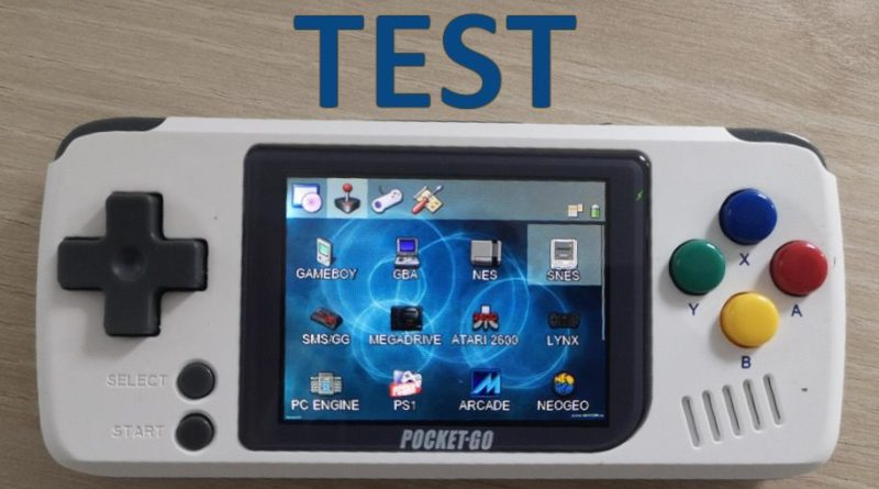 Test PocketGo Console retrogaming - gouaig