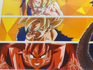 Unboxing Poster métal Dragon Ball