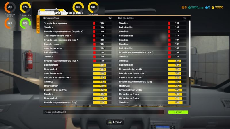 test Car Mechanic Simulator
