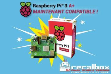 Recalbox 6.1 - RaspberryPi3A+ COMPATIBLE FR