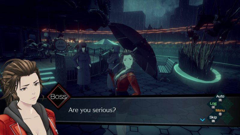 Test AI The Somnium Files