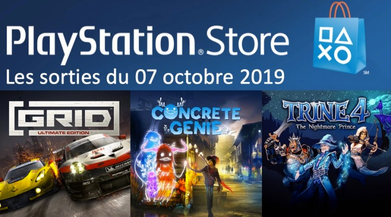 MAJ Playstation Store 07 octobre