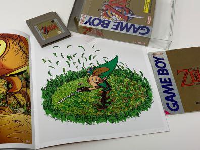 Mini artbook Zelda - Link's Awakening - 4