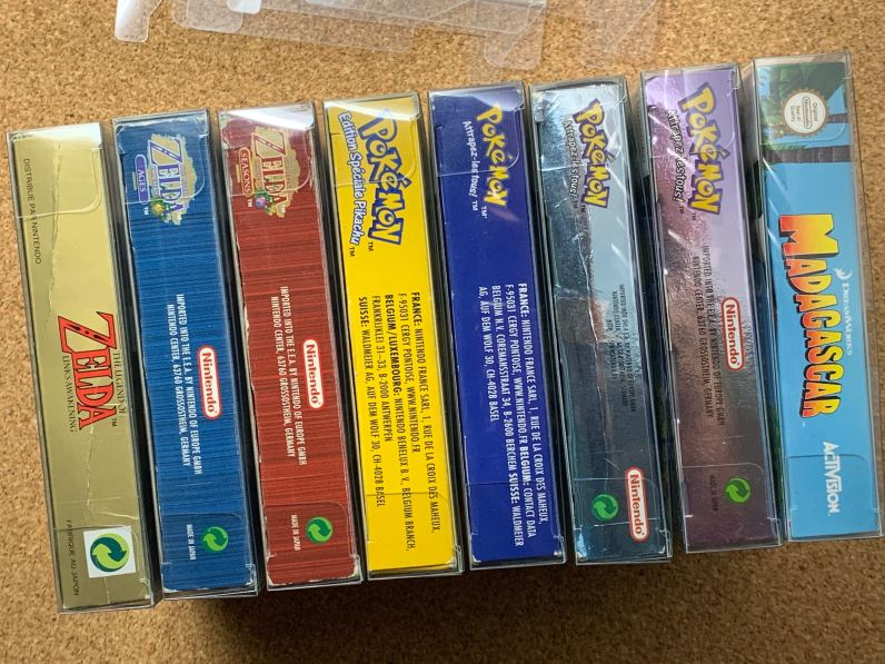 Game Boy, Game Boy Color et Game Boy Advance