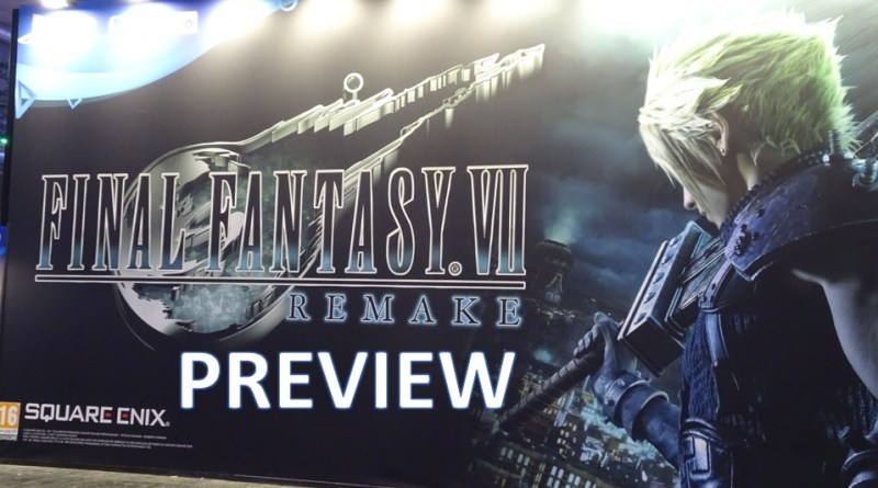 Preview Final Fantasy VII Remake - Gouaig