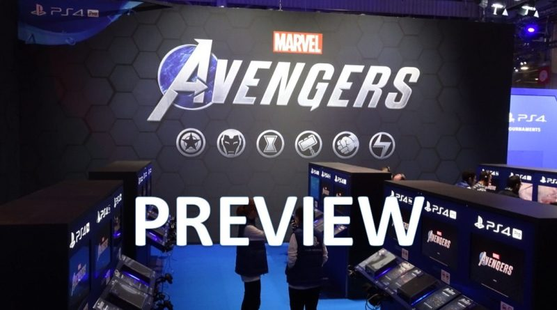 Preview Marvel's Avengers Démo jouable PGW