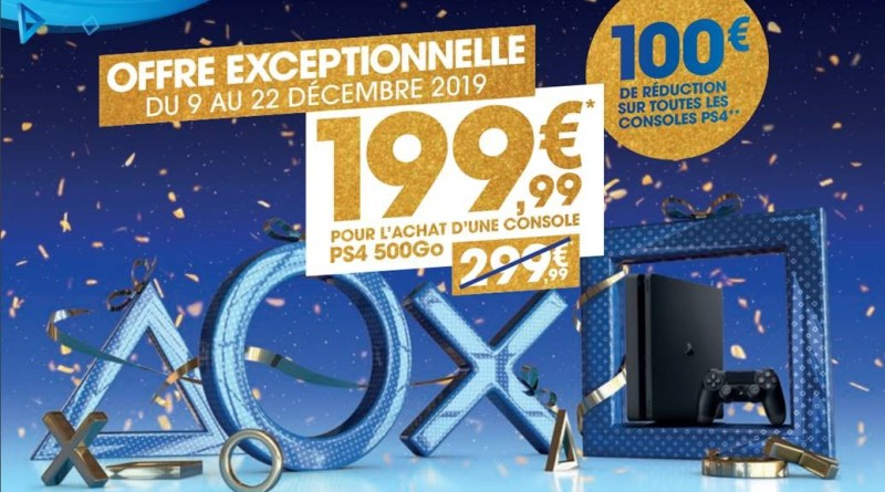 promotions noël PS4