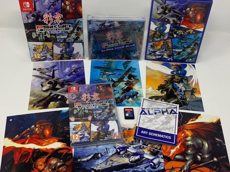 Unboxing Psikyo Shooting Stars ALPHA - 20