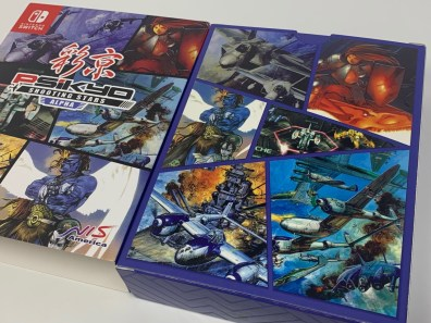 Unboxing Psikyo Shooting Stars ALPHA