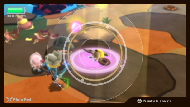 Test Snack World Mordus de Donjons Gold Switch