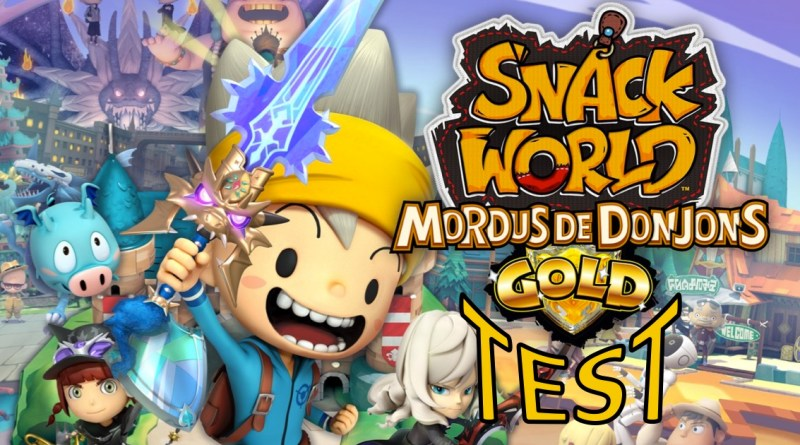 test Snack World Mordus de Donjons Gold gouaig