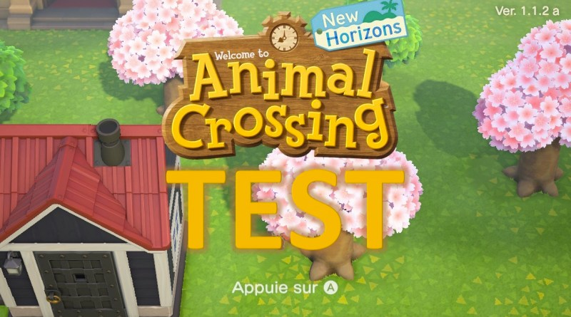 Test Animal Crossing New Horizons - GOUAIG