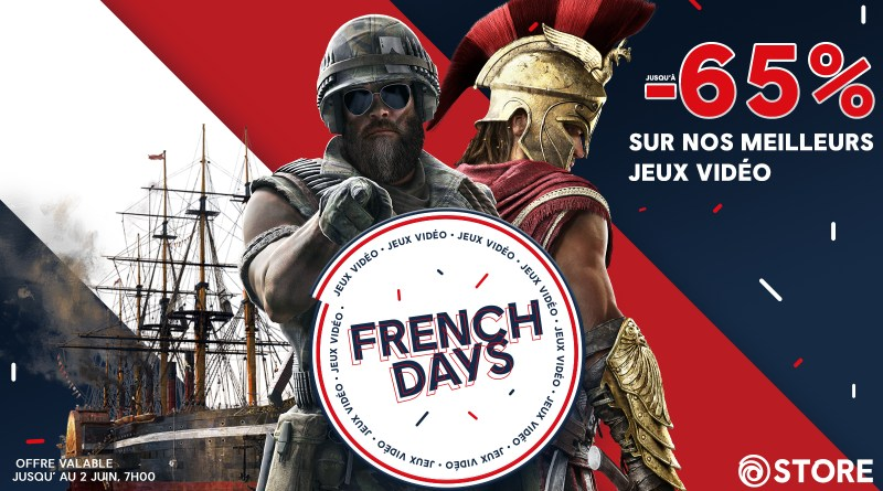 French Days Ubisoft