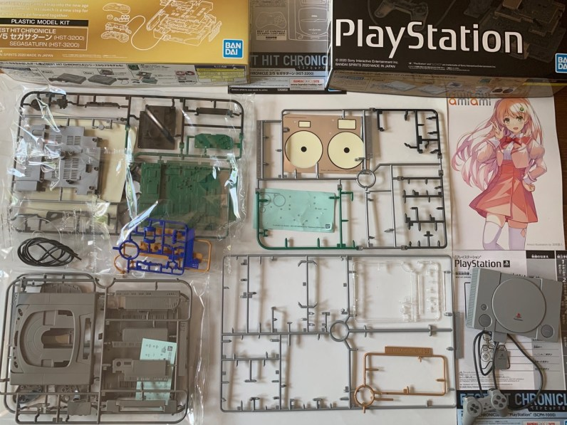 Montage Maquette PlayStation Bandai