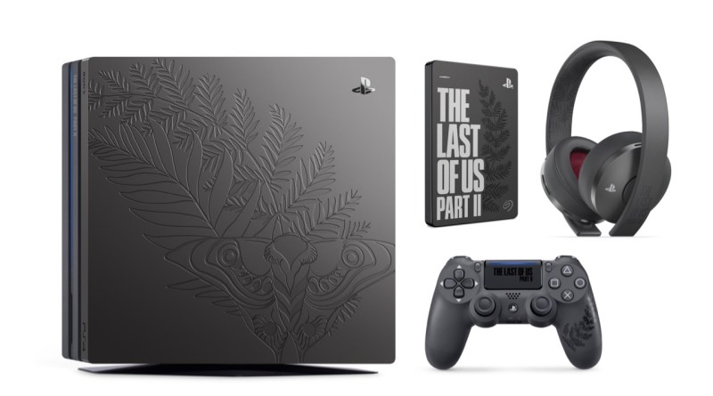 PS4 Pro The Last of Us Part II, Dualshock 4, casque et disque dur