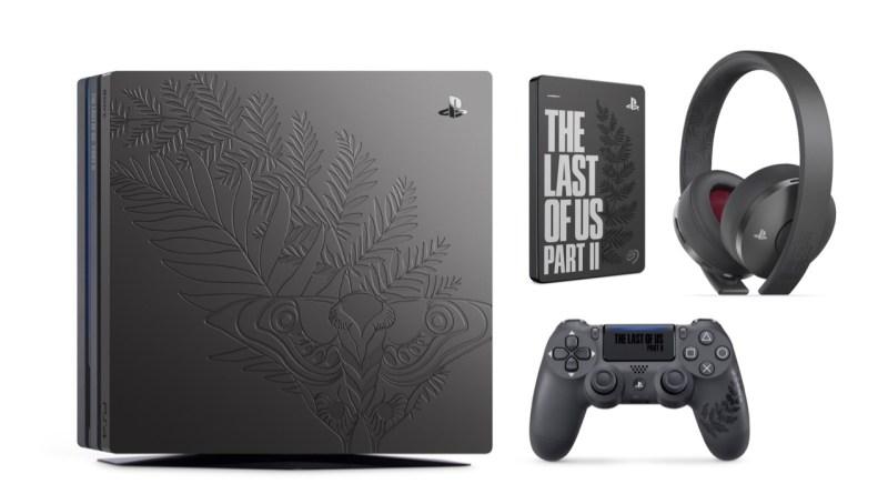 PS4 Pro The Last of Us Part II, Dualshock 4, casque et disque dur