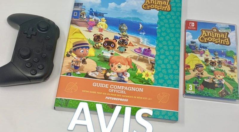 avis Guide officiel Animal Crossing New Horizons