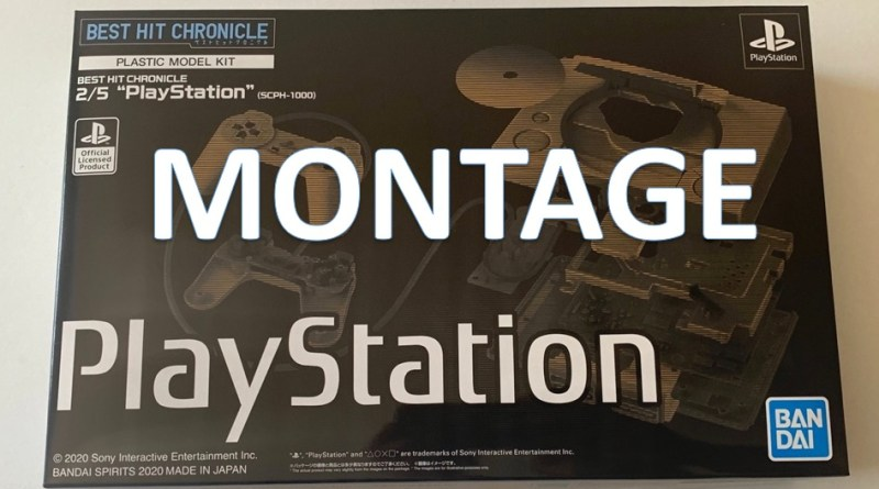 montage maquette playstation bandai spirits