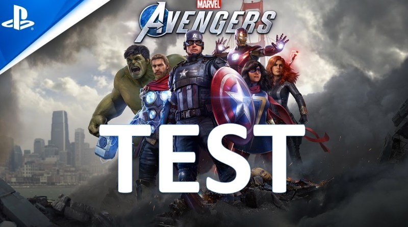 test marvel' s avengers PS4 gouaig