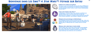 Test Les Sims 4 Star Wars Journey to Batuu - 1