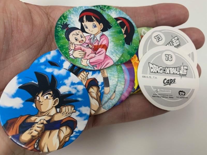 CAPS Dragon Ball Super Panini