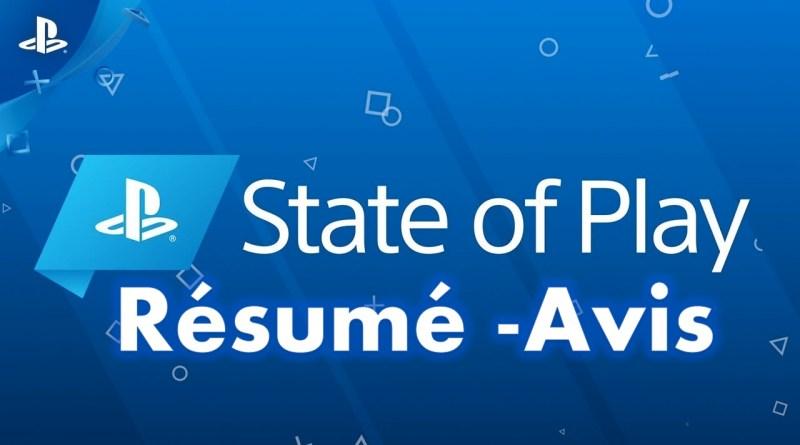 State of play Résumé Avis GOUAIG