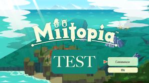 Test Miitopia Switch