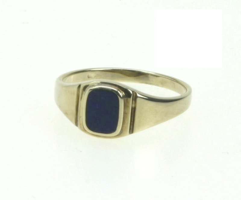 Gouden Sieraden  Gouden Ring  Dames zegel ring