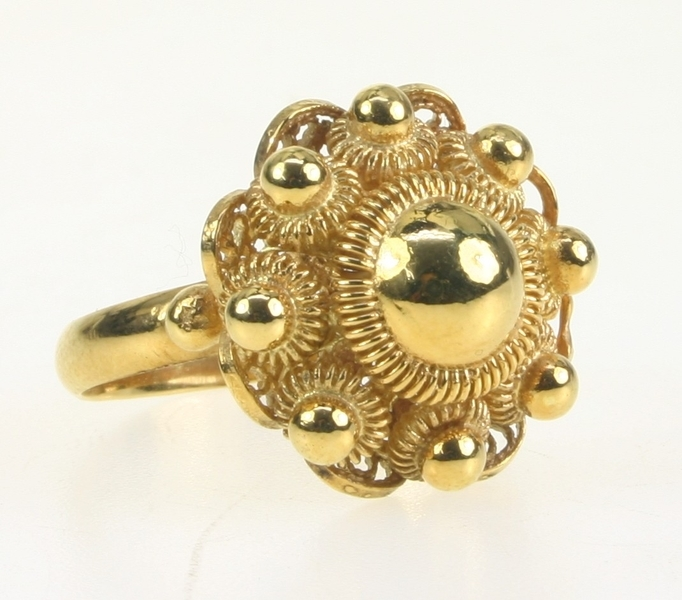 Gouden Sieraden  Gouden Ring  Zeeuwse Knoop  Zeeuwse