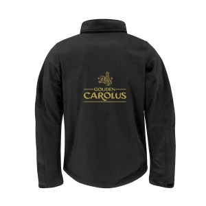 Gouden Carolus – Softshell Jas – Back