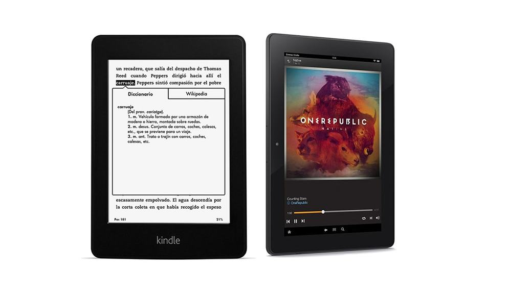 kindle ebook tablet